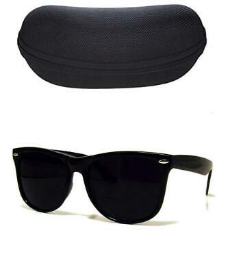 MEN Sunglasses Wayfare Style Black Frame Classic Super Dark Lens Spring (Super Classic Sunglasses)