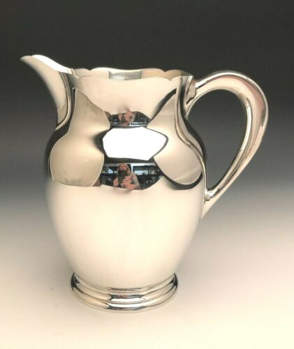 """Skylark by S. Kirk & Son Sterling Silver Water Pitcher 8.25"""" tall, item #210A"""