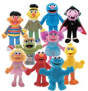 Sesame Street Finger Puppets on evenflo brand