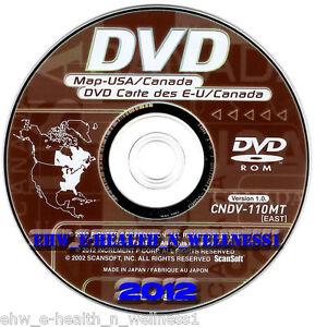 2012-Pioneer-AVIC-N1-N5-D1-D2-D3-CNDV-110MT-EAST-GPS-Navigation-Map-Disk