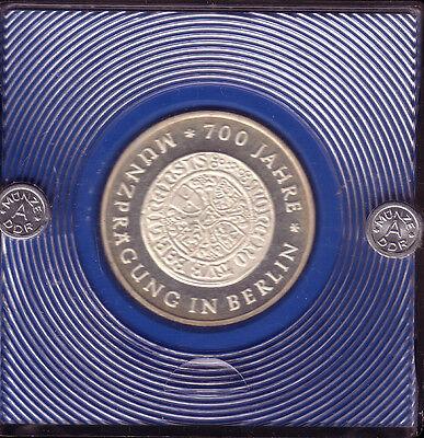 """10 M DDR 1981 """"Guldenprobe"""", sehr selten"""