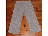 next linen blend trousers brand new without tags