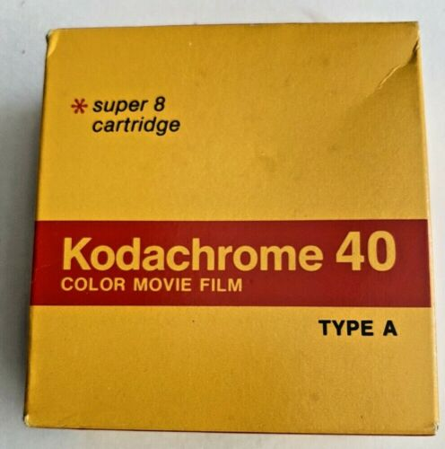Sealed Kodachrome 40 Color Movie Film Super 8 Cartridge Type A KMA 464 50 Ft '77