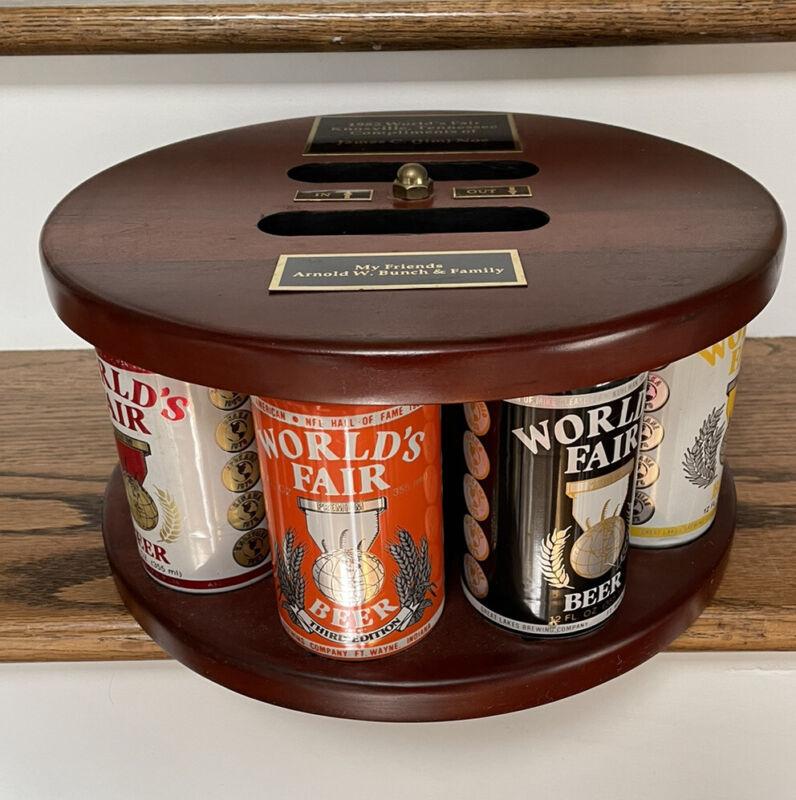 RARE 1982 Knoxville, TN Worlds Fair Premium Beer Variety Display