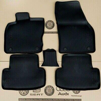 Gummimatten vorne Audi TT 8J Fußmatten Matten 8J1061501A schwarz