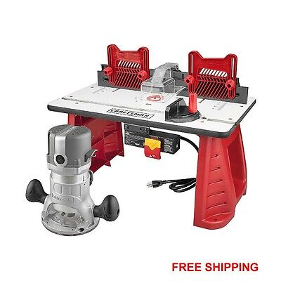 Craftsman Router and Router Table Combo lumber ...