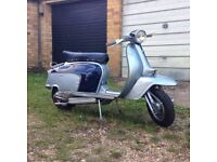 Lambretta li125 with 186 mugello kit *learner legal*