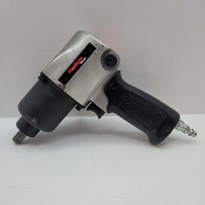 Powryte Basic 100104 12 Heavy Duty Air Pneumatic Impact Wrench Twin Hammer