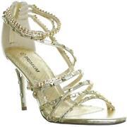 Diamond Prom Shoes