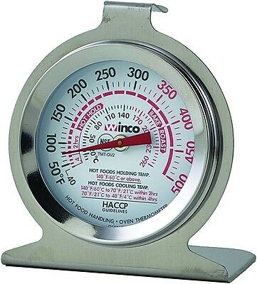 Oven Thermometer Heavy Duty Commercial Grade Hang Stand Dual Temperature (Hanging Oven)