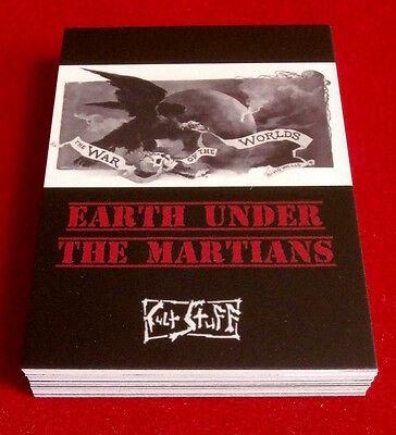 """H.G. WELLS: """"EARTH UNDER THE MARTIANS"""" - Full Set (27 cards) by Cult Stuff"""