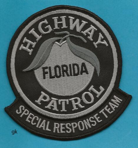 FLORIDA  HIGHWAY PATROL SRT POLICE SHOULDER PATCH  black