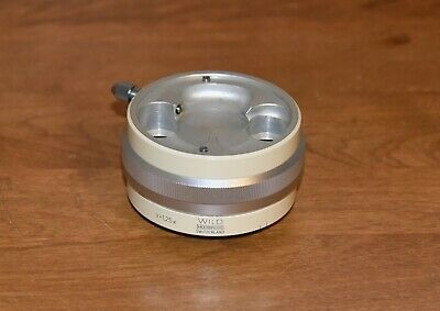 Wild M5 Stereomicroscope Intermediate V1.25x Dual Iris Diaphragm 212150 Great