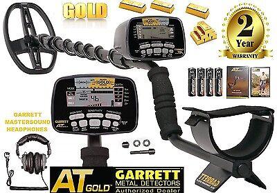 Garrett At Gold Nugget Metal Detector 100 Water Submersible Free Land Phones