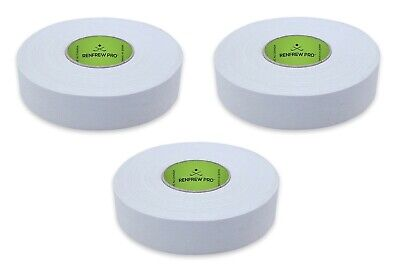 and 2 White Cloth Hockey Tape 6 Rolls Total 1 Black Cloth Hockey Tape 3 Clear Polyflex Shin//Sock Rolls Renfrew Assorted Tape pack