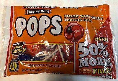 TOOTSIE ROLL POPS Assorted Flavored Candy Lollipop Suckers Exp 2020 - Tootsie Roll Lollipop