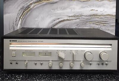 Vintage Yamaha Natural Sound Stereo Receiver CR-640, Tested /Works