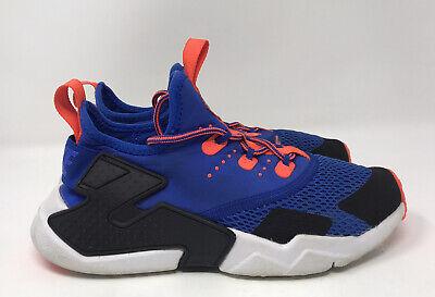 Nike Huarache Drift GS Kids Size 4.5Y Sneakers 943344 402 Blue Orange