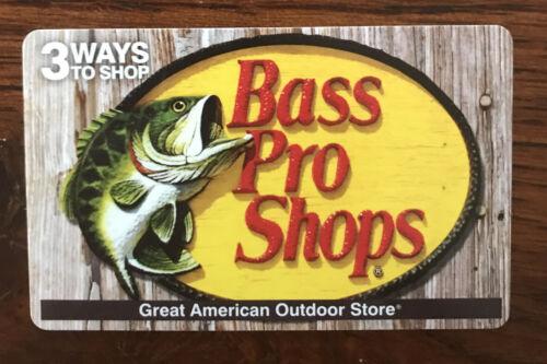 Bass Pro Shops Gift Card - $40.00
