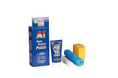 A1 Nano Kratzer Polish 2714 50ml Politur Lack und Kunststoff kratzer entferner, gebraucht gebraucht kaufen  Windeck