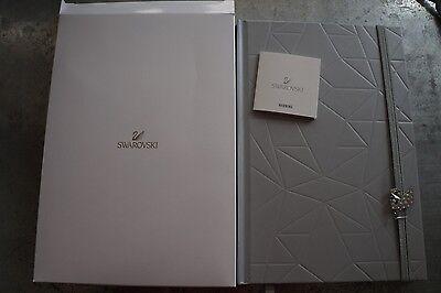 Swarovski 5234570 Notebook Writing Travel Holiday Blank Page Nib Authentic