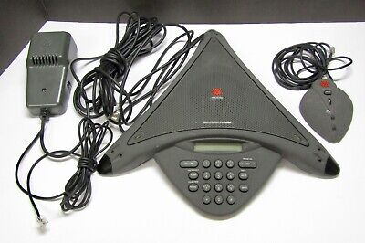 Polycom Soundstation Premier Conference Telephone 2201-01900-001 W Micadapter