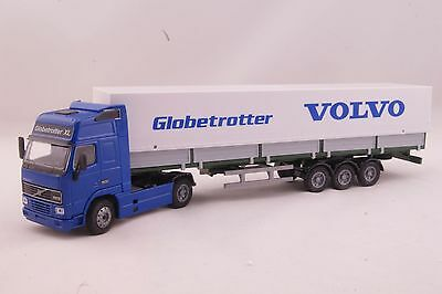 JOAL 334 Volvo FH12 Truck Globetrotter XL with Covered Trailer Scale 1:50
