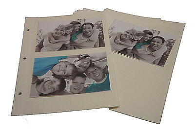 Self Adhesive Photo Album 20 Sheet/40 Sides Refill For Ring Binder Album - 6804