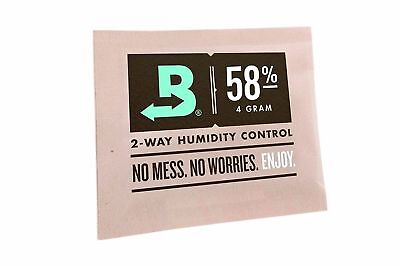 Boveda RH 58% 2 Way Humidity Control Micro 4g Gram - 6 pack