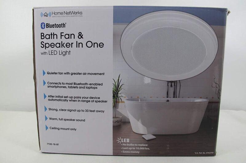 Home Netwerks - Bluetooth Speaker - Exhaust Fan LED Light