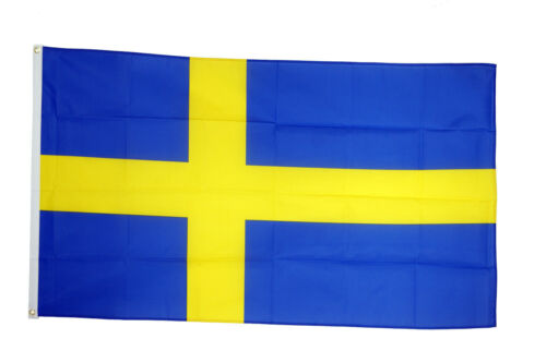 Sweden Flags & Bunting - 5x3