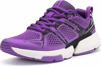 WHITIN Women's Supportive Running Cushion Sneaker Purple Size 39 / 8.5