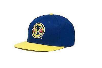 Club America Snapback Soccer Cap Hat Licensed Yellow - Gorra Aguilas del America ()