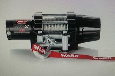 WARN VRX 2500 LB ATV WINCH COMPLETE KIT FOR HONDA 2014-2019 RANCHER 420
