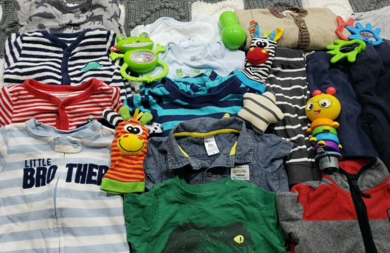 Baby Boy Clothes 6 Months Huge Lot 😍👶😍
