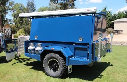 Tru Blu Off-road Camper trailer Drouin Baw Baw Area Preview