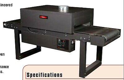 Bbc T-series Conveyor Dryer Oven Screen Printing 2013