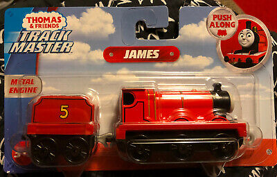 Thomas and Friends Adventures Track Master JAMES Metal Engine Push Along Train