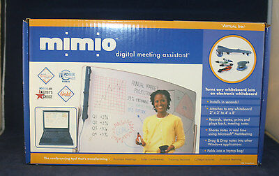 New Quartet Mimio Digital Meeting Assisstant Electronic Whiteboard Version 1.1