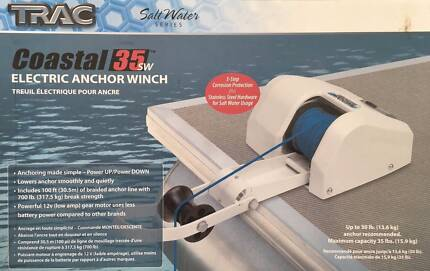 ELECTRIC ANCHOR WINCH - BRAND NEW IN BOX - SURPLUS STOCK