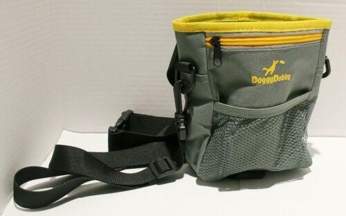 Doggy Dobby Dog Treat Training Pouch w/Poop Bag Pocket & Extra Storage Pockets