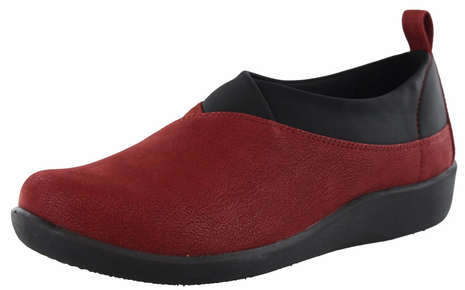 WOMENS CLARKS CLOUDSTEPPERS SILLIAN GREER MEDIUM AND WIDE WIDTH LOAFERS