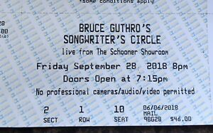 FRONT ROW Bruce Guthro's Songwriters Circle