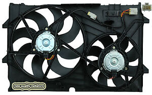 Holden Commodore VY V6 New Radiator Thermo Dual Fan Assembly 2002-2004