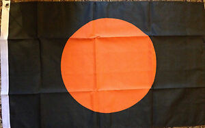 Formula-One-Safety-Flag-3x2-Flag-Car-Racing-F1-Black-Orange-Signal-Pit-Stop-bn
