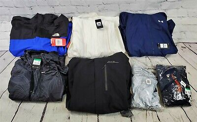 Lot of 7 New/NWT Assorted Brands Unisex Coats & Jackets inVarious Styles-BBJ1554