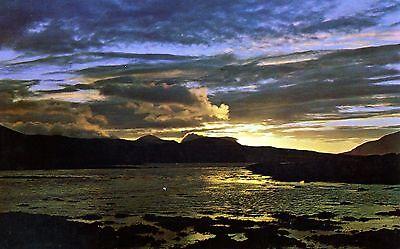 Isle of Skye: Sunset over Broadford