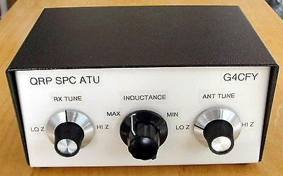 QRP TX SPC Antenna Tuning Unit. Power handling up to 10W. Made in Dorset, UK.