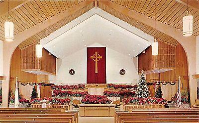 Deerfield Beach Florida Community Presbyterian On Church A1a Hwy  Postcard 1960S