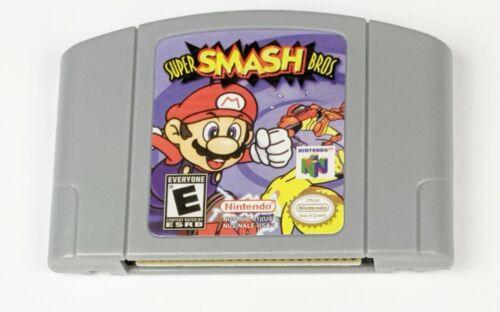 Super Smash Bros - For Nintendo 64 N64